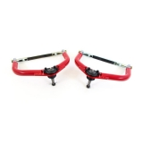 1970-1981 Camaro UMI Front Upper Control Arms, Adjustable, Red