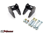 UMI 1978-1988 Monte Carlo Bolt In Rear Lower Control Arm Relocation Kit, Black: 3018-B