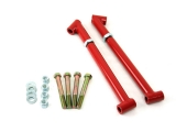 1968-1972 Chevelle UMI Frame Braces / Trailing Arm Reinforcements, Red