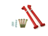 UMI 1964-1967 Chevelle Trailing Arm Reinforcements / Frame Braces, Red