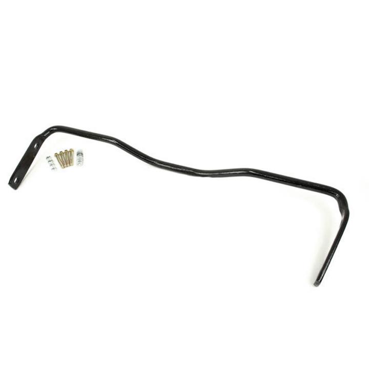 1964-1972 El Camino UMI 1 Inch Solid Chromoly Rear Sway Bar, Black: 4034-B