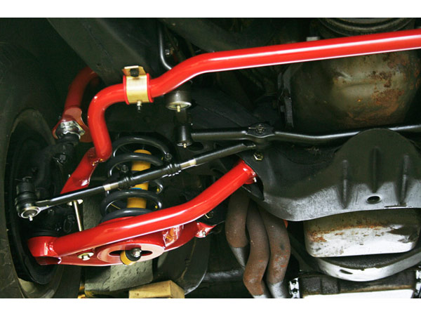 1964 1972 Chevelle Umi 1 25 Inch Solid Front Sway Bar Red