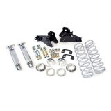 1964-1972 Chevelle UMI Rear Coilover Kit, Control Arm Relocation, Bolt In, 110 Lb Spring: 4057-110