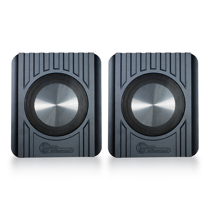 1962-1979 Nova Undercover 2 Speakers By Custom AutoSound: UNDERCOVER2