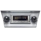 1966-1967 Chevrolet Custom AutoSound USA-740 AM/FM 300 Watt Stereo, Bluetooth Built-In