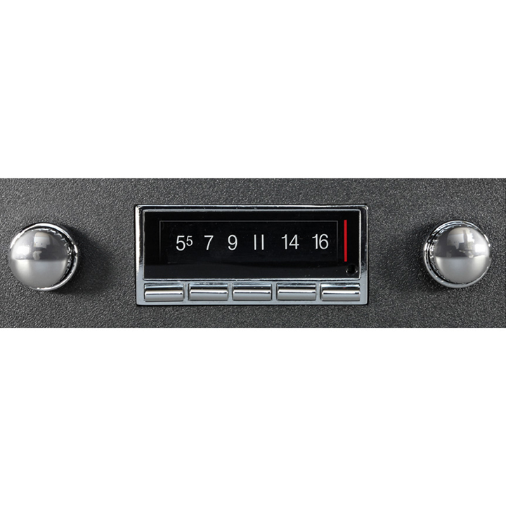 1969-1972 Chevelle Custom AutoSound USA-740 AM/FM 300 Watt Stereo, Bluetooth Built-In