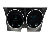 1967-1968 Camaro Dakota Digital Instrument Cluster Blue, MPH, Deg. Fahrenheit