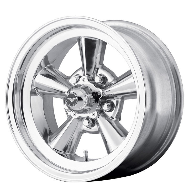 American Racing Torq Thrust Original 1-Piece Wheel, 15x7 Polished: VN1095761