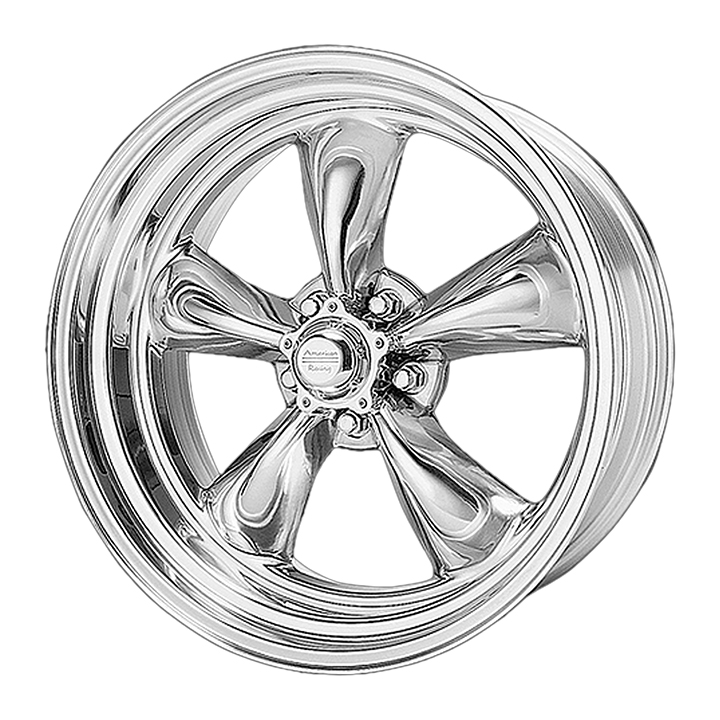 American Racing Classic Torq Thrust 2 1-Piece Wheel, 15x8 Polished: VN5155863
