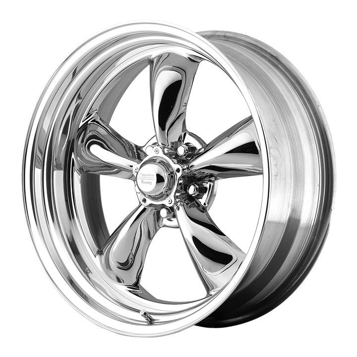 American Racing Torq Thrust 2 1-Piece Wheel, 15x7 HRD/PVD with Chrome PVD: VN8155761