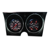 1967-1968 Camaro Classic Instruments Gauge Kit Velocity Series Black