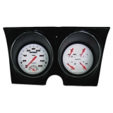 1967-1968 Camaro Classic Instruments Gauge Kit Velocity Series White