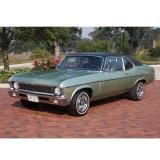 1968-1974 Chevrolet Sedan Vinyl Top In Black