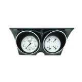 1967-1968 Camaro Classic Instruments Gauge Kit White Hot Series: CAM67WH