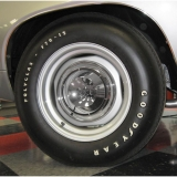 1964-1972 Chevelle Goodyear Polyglas Tire F 60 X 15 Poly Glas