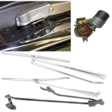 1968-1972 El Camino Deluxe Hidden Wiper Kit - Chrome Finish