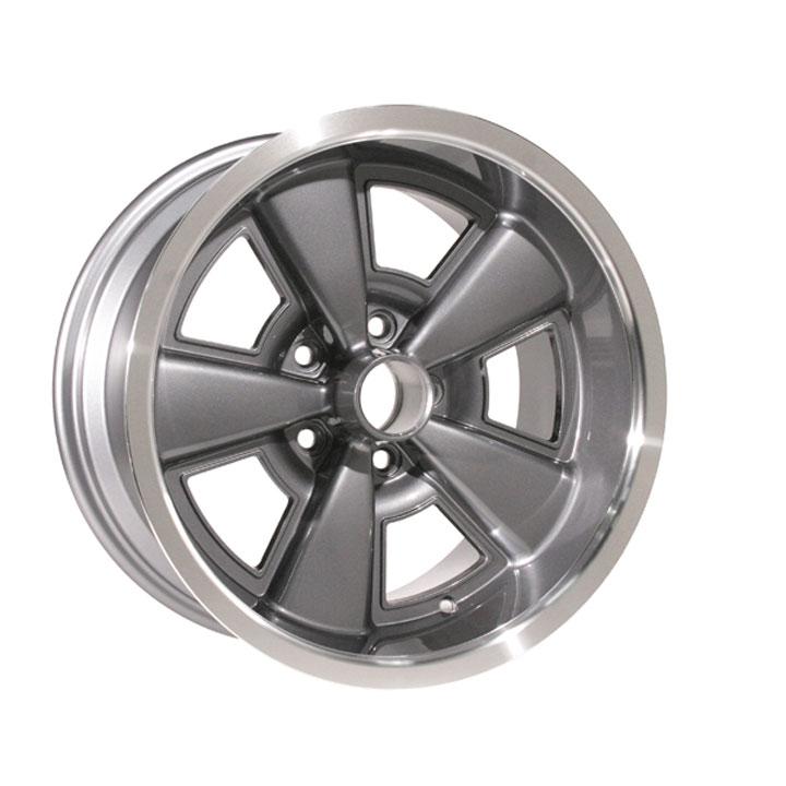 17 X 9 Inch 5 Spoke Rally Wheel Gunmetal Year One 5