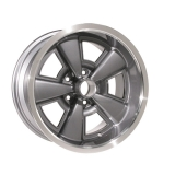 17 x 8 Inch 5 Spoke Rally Wheel, Gunmetal - Year One - 4.25 Inch B/S