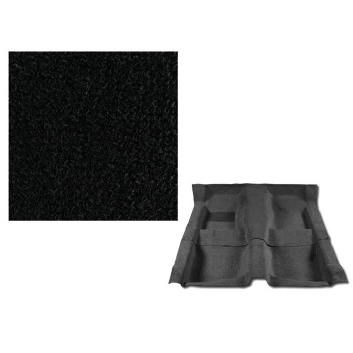 1974-1977 Chevelle Carpet, 801 Black