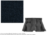 1969 Camaro Carpet Set w/ Mass Backing 80/20 Looped Dark Blue 07