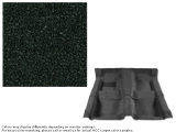 1967-1968 Camaro Carpet Set w/ Mass Backing 80/20 Looped Dark Green 08