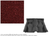 1969 Camaro Carpet Set w/ Mass Backing 80/20 Looped Maroon 13