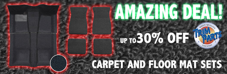 Camaro Carpet Kits!