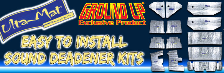 Sound Deadener Kits!
