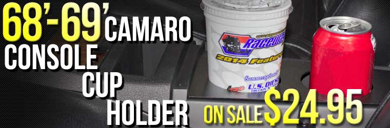1968-1969 Camaro Console Cup Holder Sale!