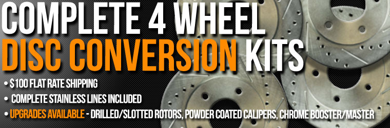 Upgrade Your Outdated Brakes - Affordable Complete 4 Wheel Disc Kits