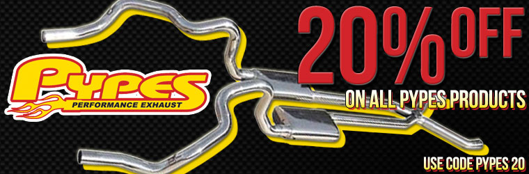 20% Off All Pypes Performance Exhaust at SS396.com!