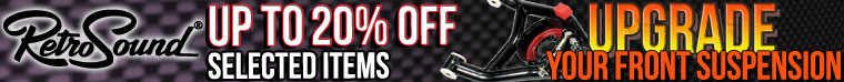 Up To 20% OFF Retro Sound Products!l Chevelle Tubular Control Arms On Sale at SS396.com!