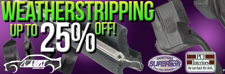 Weatherstrip Sale!